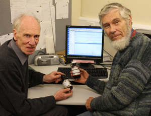 Professor Alistair Wilkins and Associate Professor Chris Hendy
